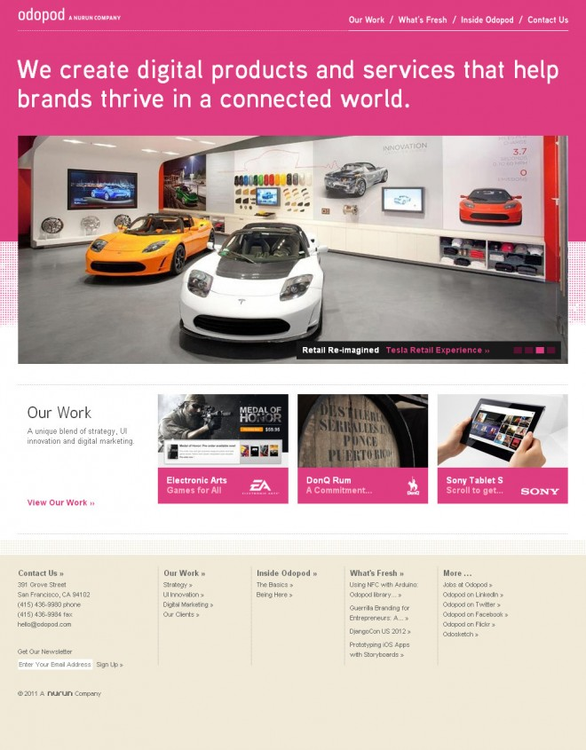 Odopod corporate website design.preview