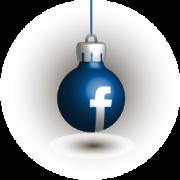 Наборы иконок соцсеетй «Новогодние шарики»