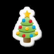 Наборы иконок в новогоднем стиле «Xmas sticker»