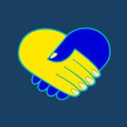 Логотип волонтерского центра Полтавщины